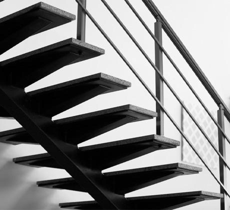 Fabrication d'escalier métallique près de Valenciennes