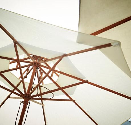 Fabrication de pied de parasol métallique sur mesure près de Valenciennes